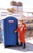 Туалетные кабины на строительных объектах