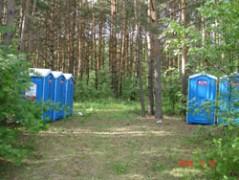 Туалетные кабины в зонах отдыха