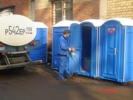 Обслуживание туалетных кабин в Москве и области
